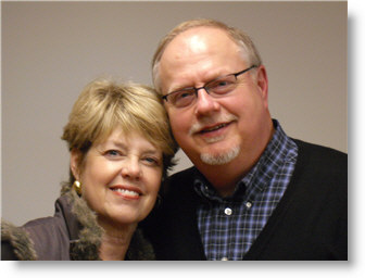 Pastor John Carlson and wife Natalie